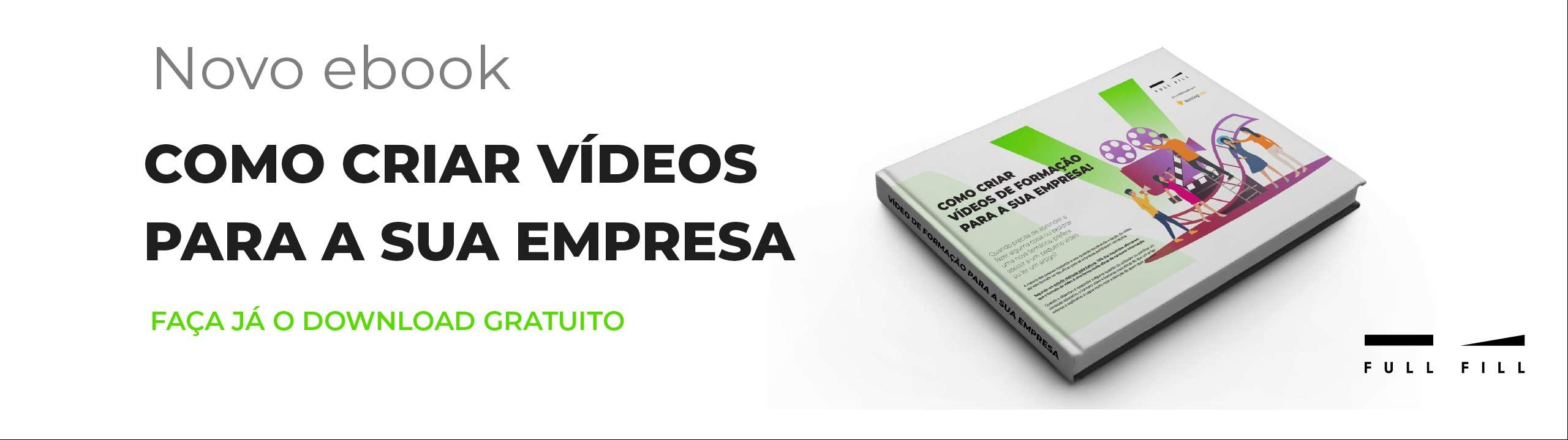 Slider Ebook – Como criar vídeos de formação para a sua empresa
