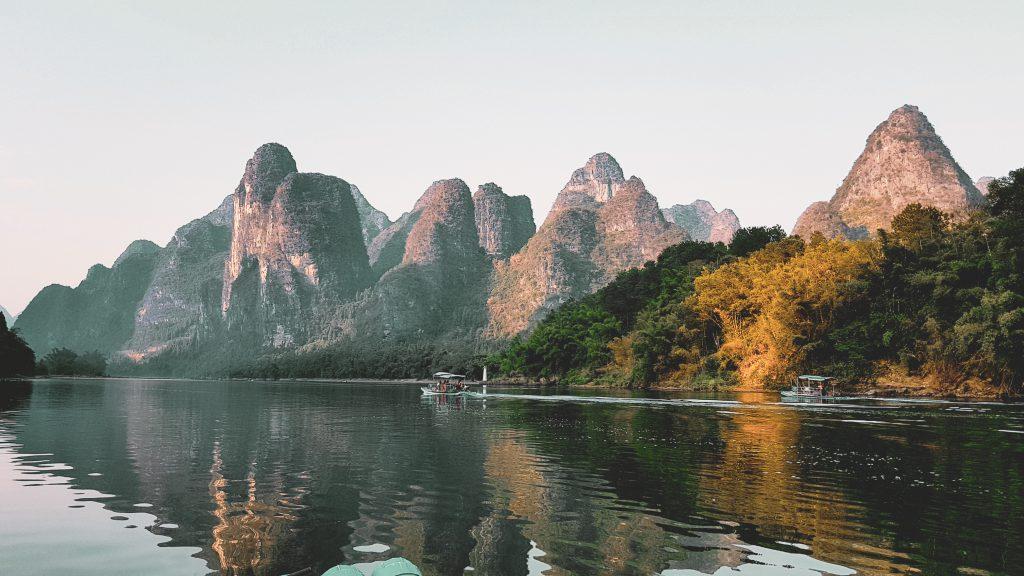 Paisagem do rio Li