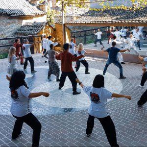 Prática de Tai Chi e Qi Gong