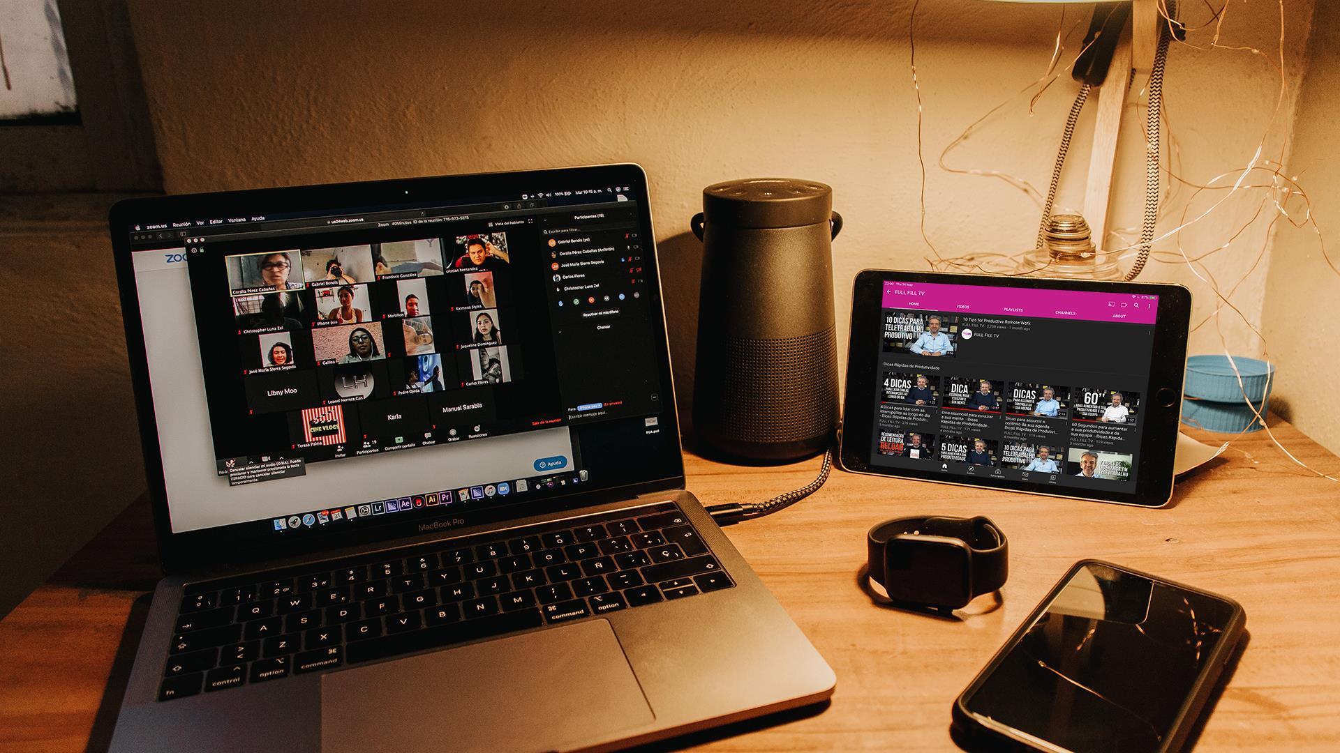 Sessões online